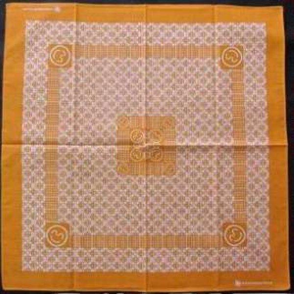 画像1: ありがとうバンダナ オレンジ (1)